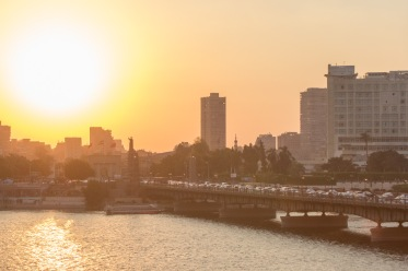 Kasr Al Bridge accross the Nile