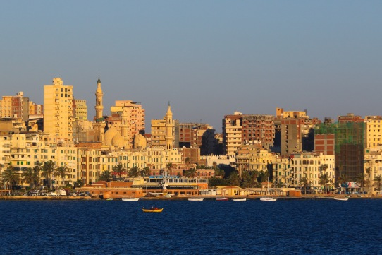 Alexandria - Egypts second larges city on the Mediteranean