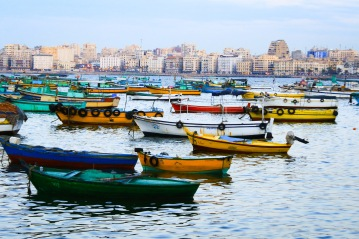 Fishing boats in the Eastern Harbor