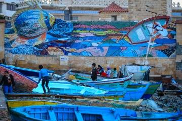 Alexandria mural