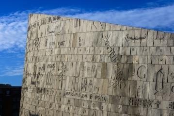 The modern Bibliotheca Alexandria