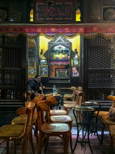 El-Feshawy tea house in Khan el-Khalili